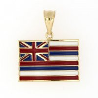 Hawaiian Flag Pendant
