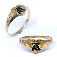 Hawaiian Scroll Ring