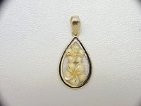 Plumeria Pendant - Millennium Collection